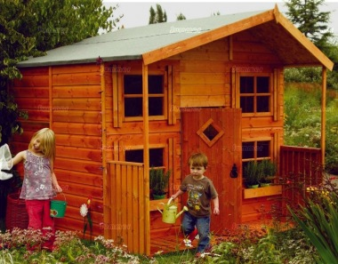 Rowlinson Hideaway Two Storey Playhouse with Verandah