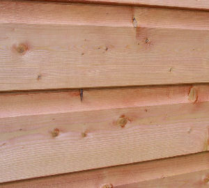 OUTDOOR PLAY xx - Close up view of cladding