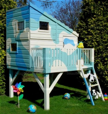 Shire Command Post Playhouse - With Platform