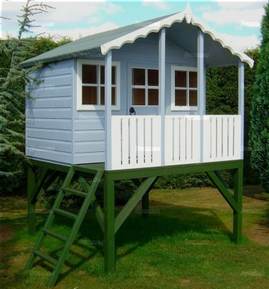 Shire Stork Playhouse - Shiplap