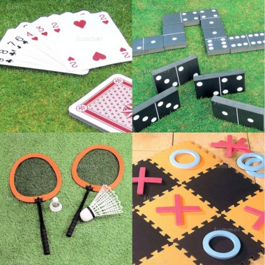 Multi Pack 541 - Cards, Dominoes, Badminton and Noughts and Crosses