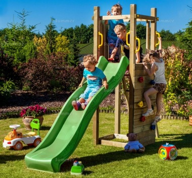 Tower Play Centre 411 - With Slide and Climbing Wall