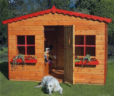 Childrens Playhouse 61 - Shiplap, All T and G